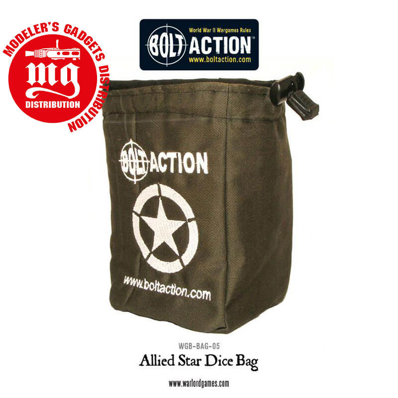 BOLT-ACTION-ALLIED-STAR-DICE-BAG-AND-DICE