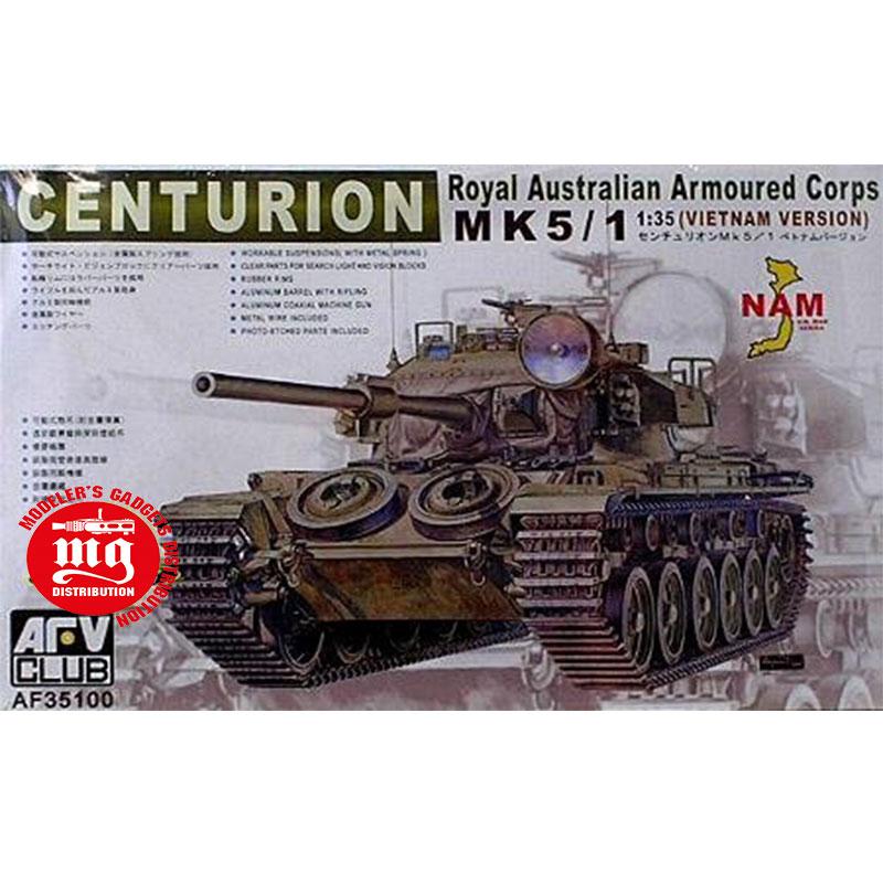 CENTURION-ROYAL-AUSTRALIAN-ARMOURED-CORPS-VIETNAM-VERSION AFV CLUB AF35100