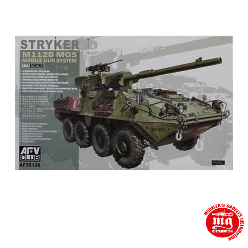 STRYKER M1128 MGS MOBILE GUN SISTEM AFV CLUB AF35128