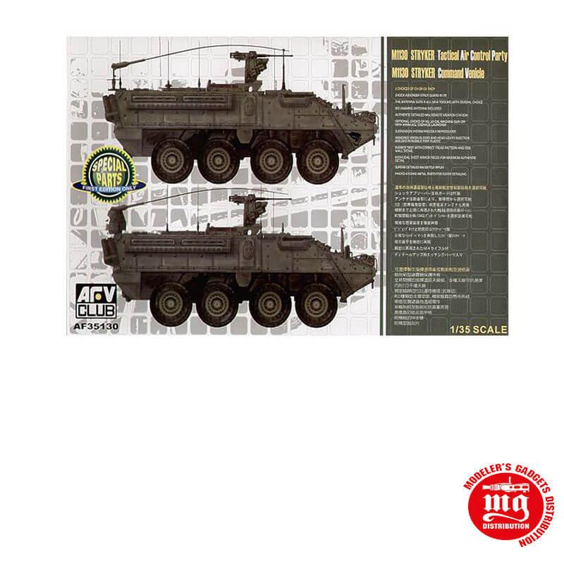 M1130 STRYKER TACTICAL AIR CONTROL PARTY AFV CLUB AF35130