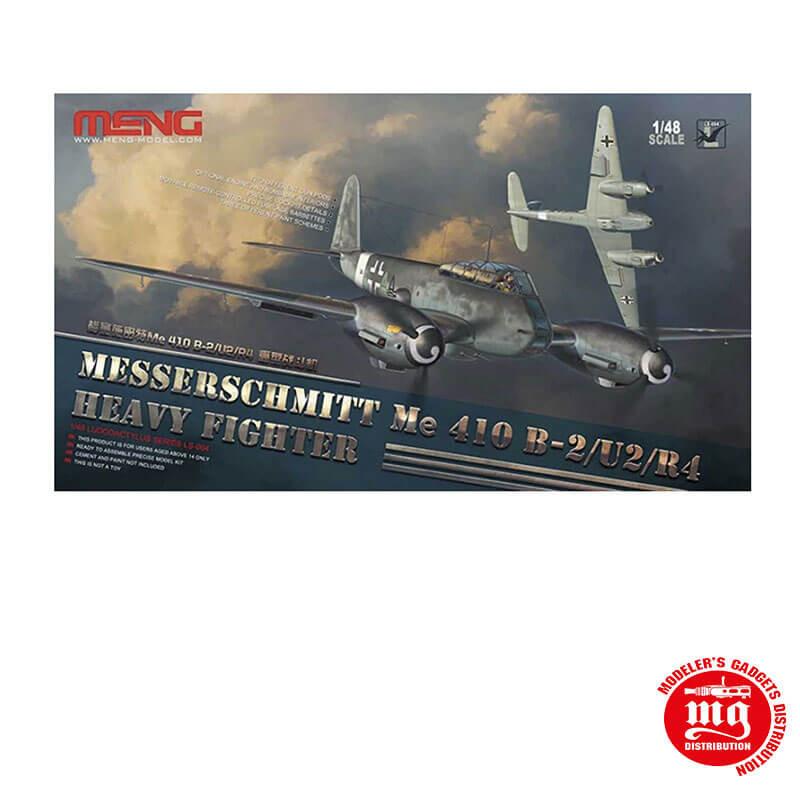 MESSERSCHMITT Me 410 B-2/U2/R4 HEAVY FIGHTER MENG LS 004