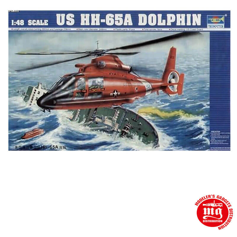 US HH 65A DOLPHIN TRUMPETER 02801
