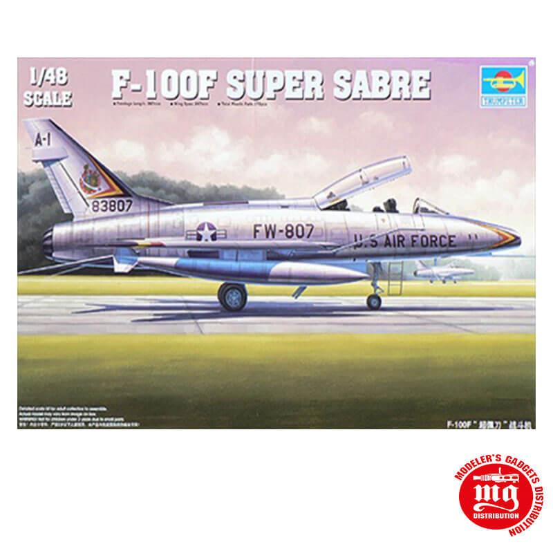 F-100F SUPER SABRE TRUMPETER 02840