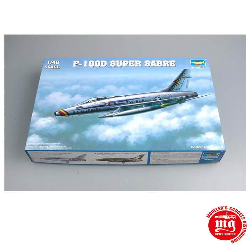 F-100D SUPER SABRE TRUMPETER 02839