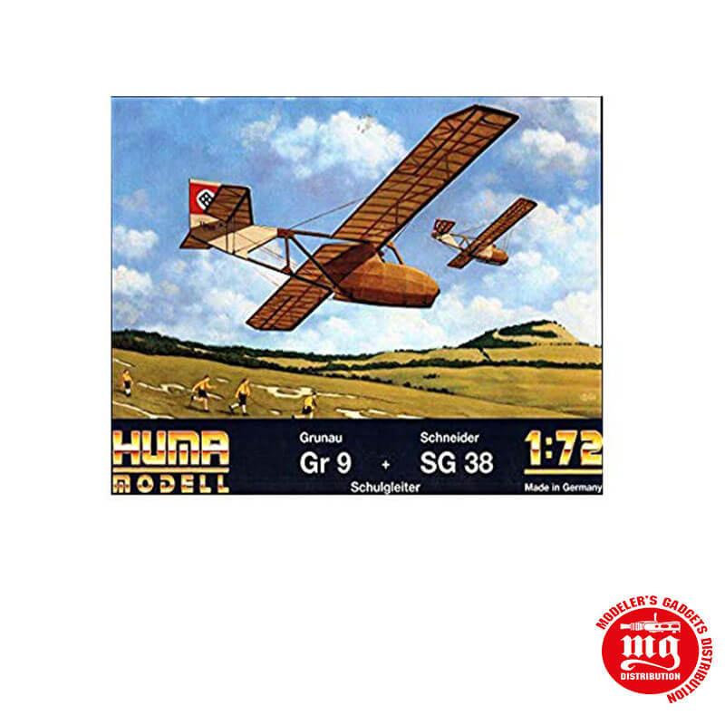GRUNAU GR9 Y SCHNEIDER SG38 HUMA MODELL 2505