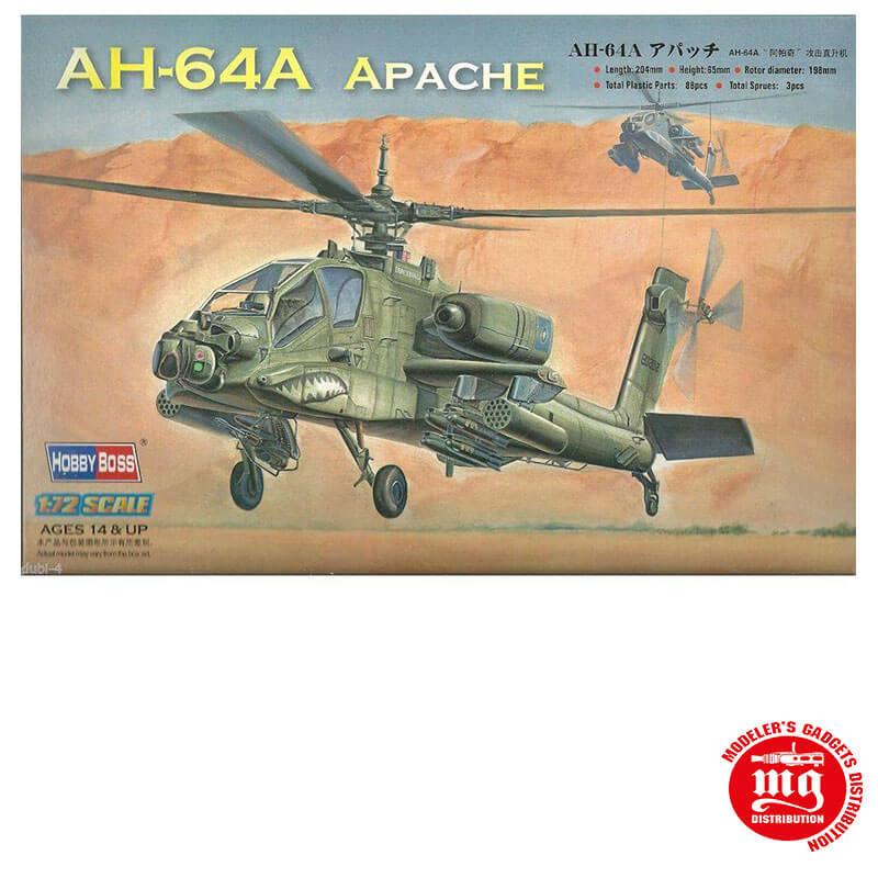 AH 64A APACHE HOBBY BOSS 87218