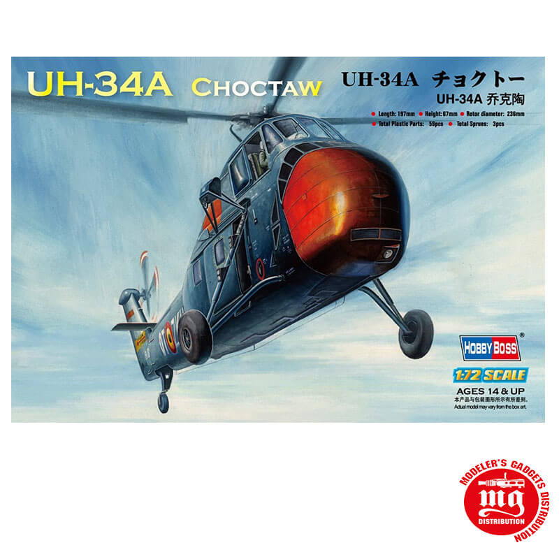 UH 34A CHOCTAW HOBBY BOSS 87215
