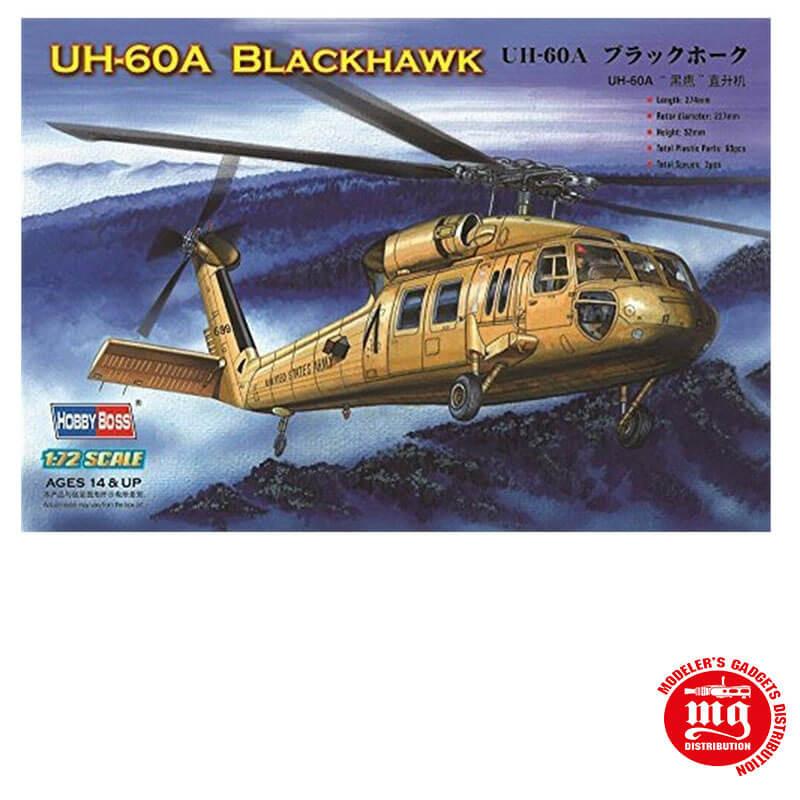 UH 60A BLACKHAWK HOBBY BOSS 87216