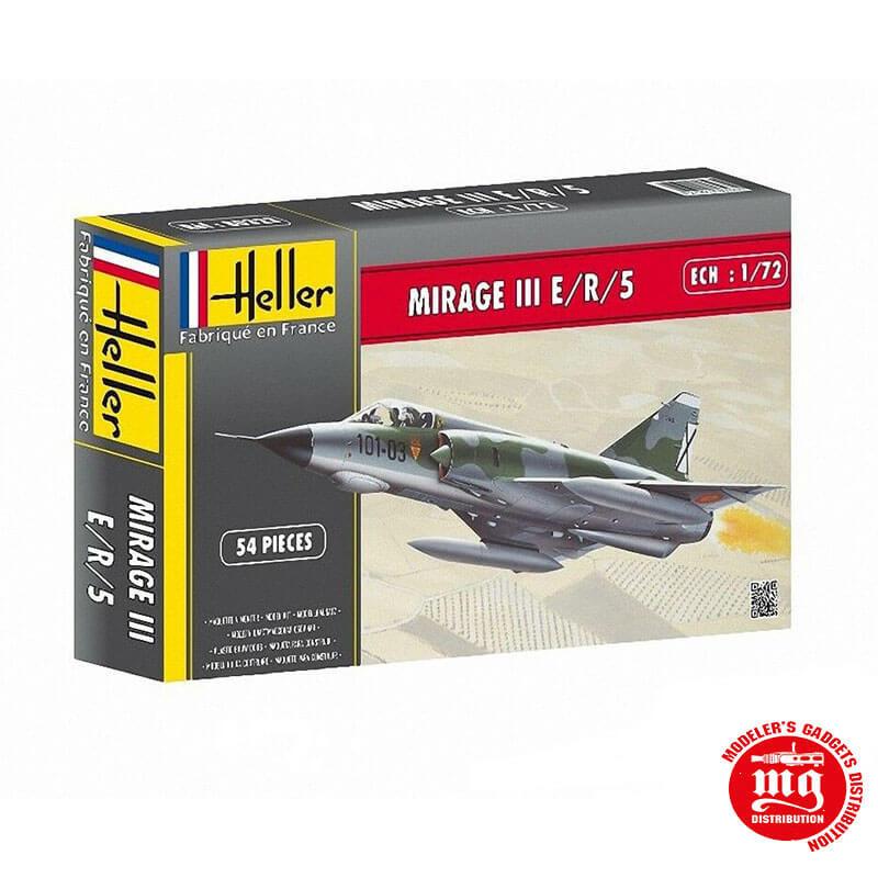 MIRAGE III E/R/5 HELLER 80323