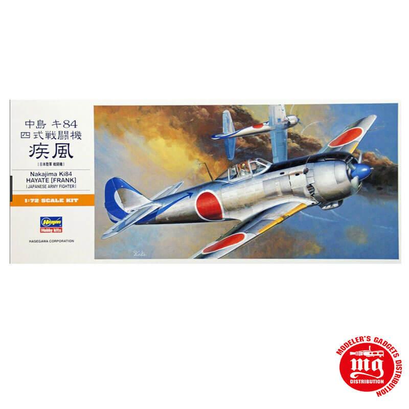 NAKAJIMA Ki84 HAYATE FRANK JAPANESE ARMY FIGHTER HASEGAWA 00134