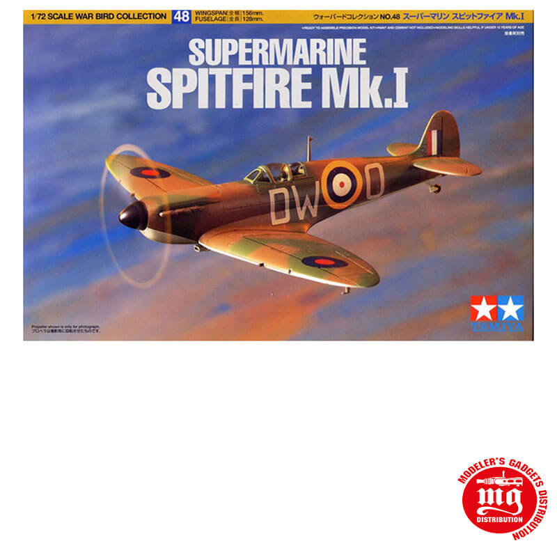 SUPERMARINE SPITFIRE Mk.I TAMIYA 60748