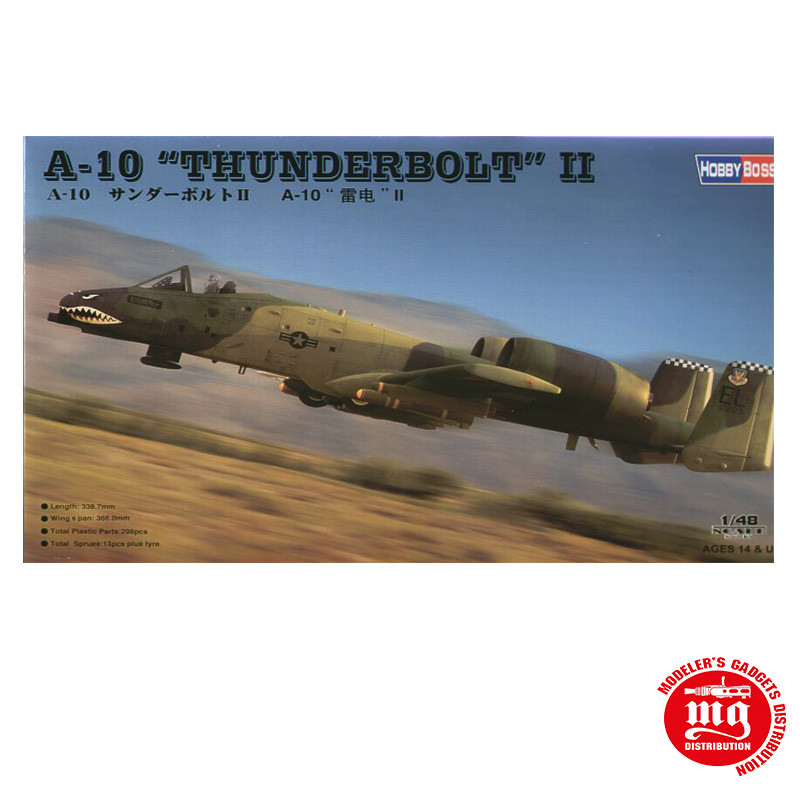 A-10 THUNDERBOLT II HOBBY BOSS 80323