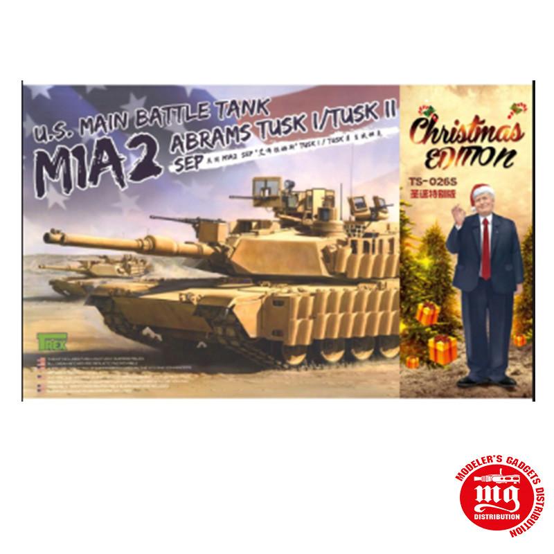 US MAIN BATTLE TANK M1A2 ABRAMS TUSK I/TUSK II
