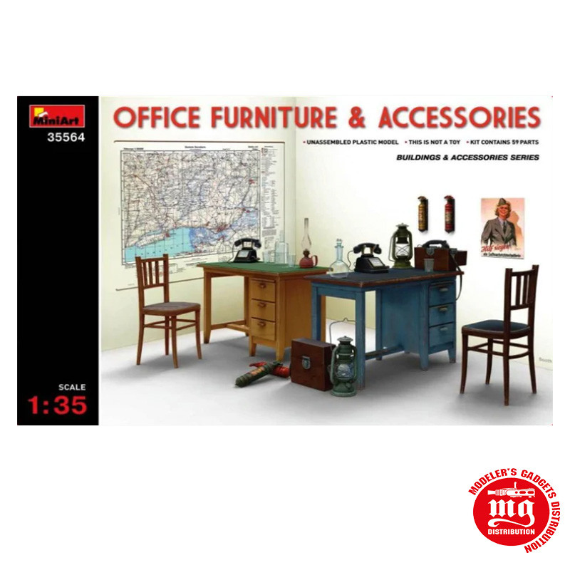 OFFICE FURNITURE & ACCESORIES